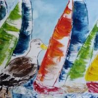 2016 Segelboote Acryl